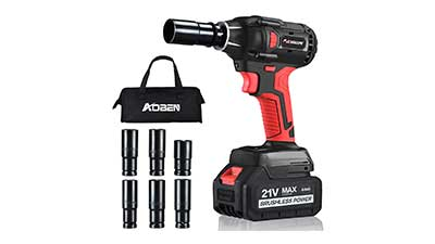 AOBEN 21V Cordless Impact Wrench Fast Charger