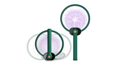Electric Fly Swatter Indoor Bug Mosquito Killer