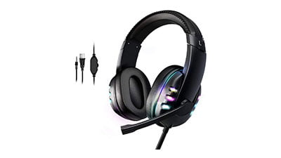 Gaming Headset for PS5 Xbox Series X with Microphone