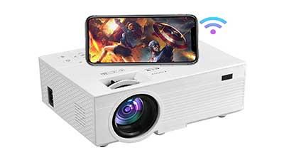 Portable Native 1080P Bluetooth Projector