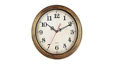 KECYET Wall Clock 12 Inch Vintage Style