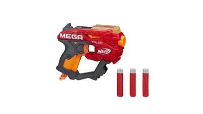 Nerf Mega Talon Blaster with 3 Nerf Mega darts