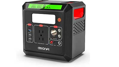 Portable Power Station 518.4 W Solar Generator