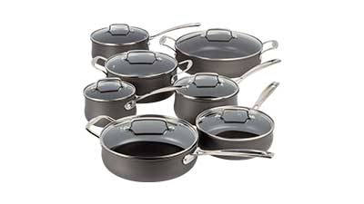 Nonstick Hard-Anodized Cookware Set