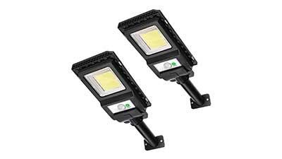 Solar Powered Motion Sensor Outdoor Light
